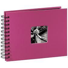 Албум със спирала HAMA Fine Art, 24 x 17 cm за 50 снимки, Розов