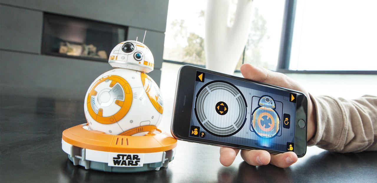 Управляем дроид SPHERO-BB8 Star Wars с гривна Force Band за управление