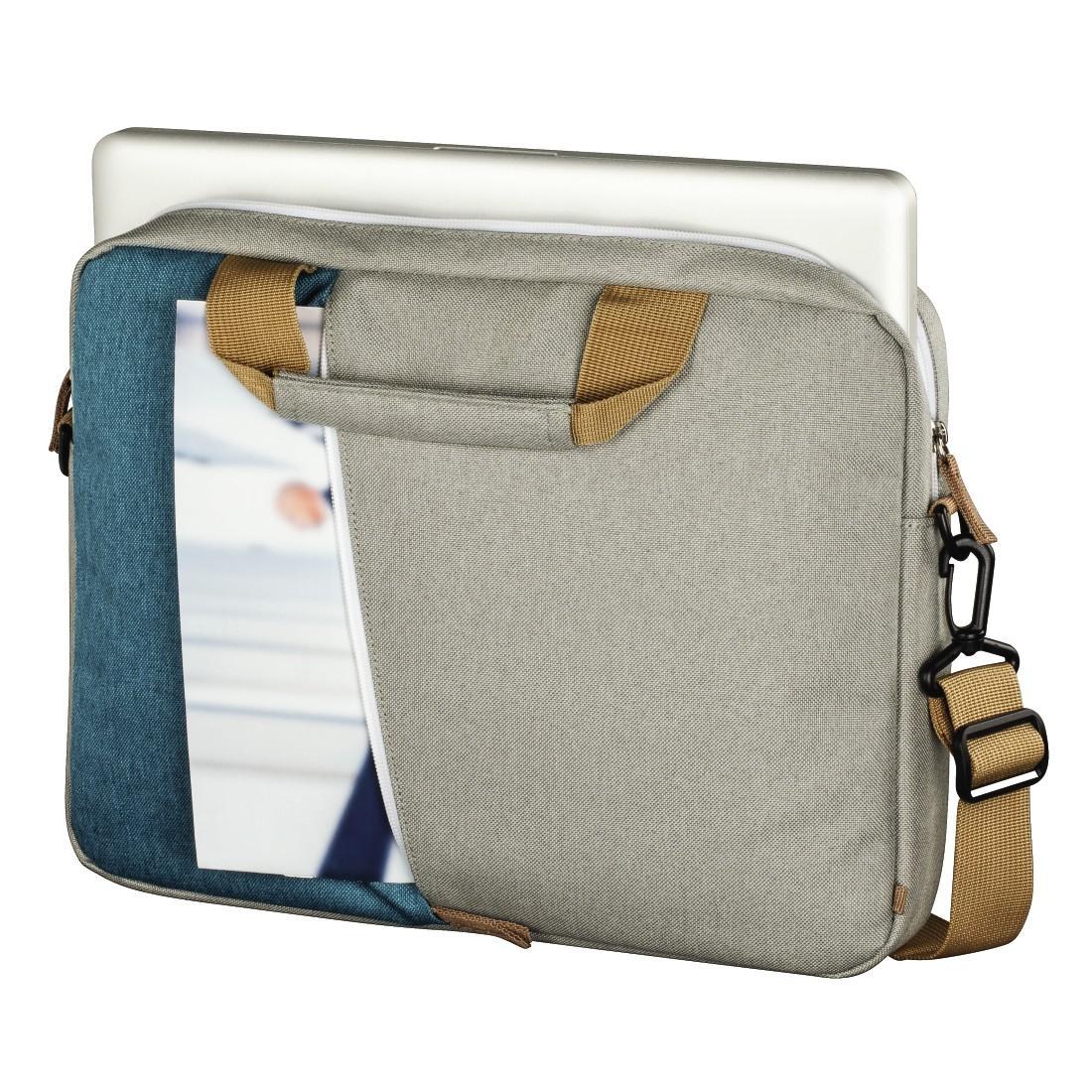 """Чанта за лаптоп HAMA Florence, до 40 см (15.6""""), Син/Сив"""