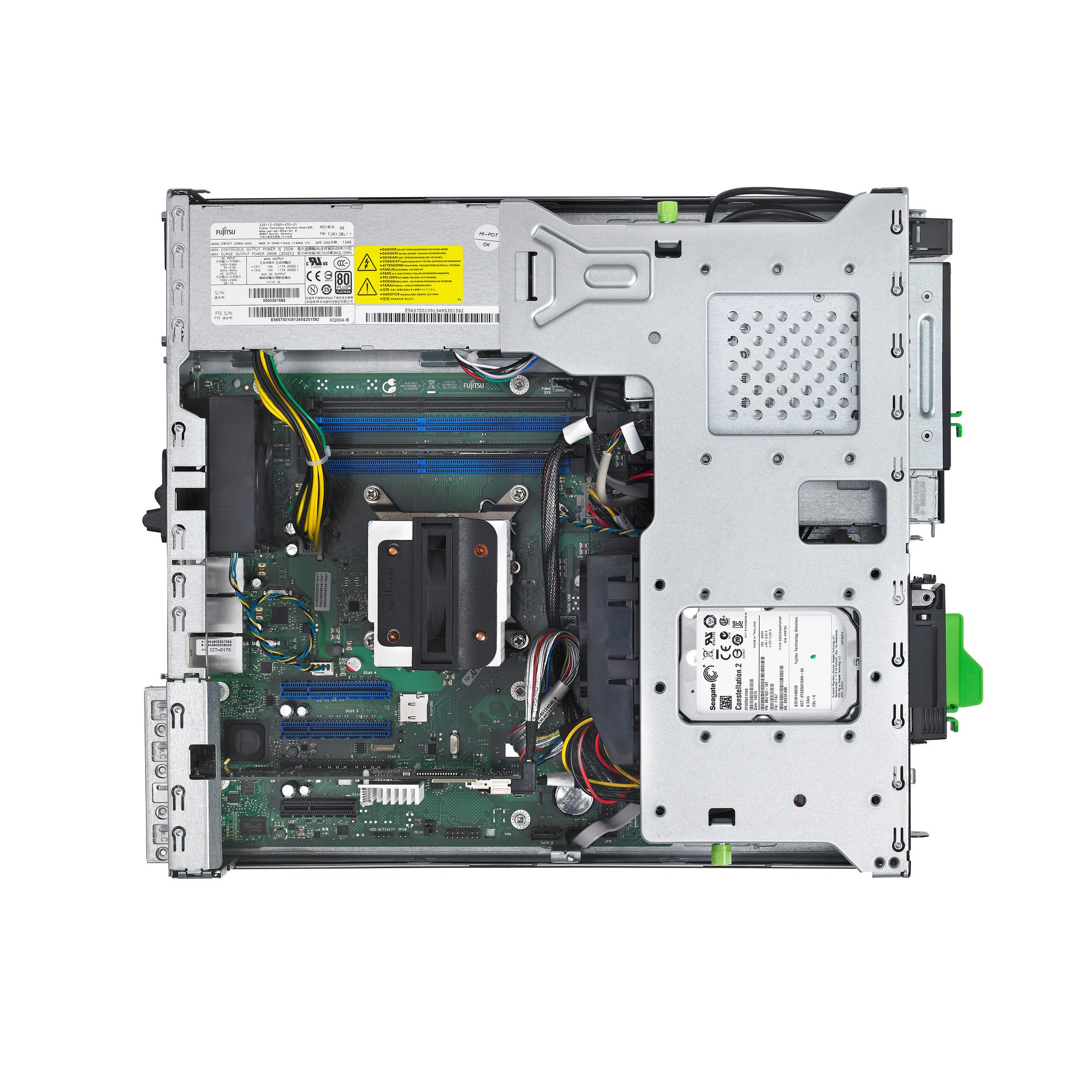 Сървър Primergy TX1320 M1 Intel  i3-4330  8Gb/1x250GB/DVDRW