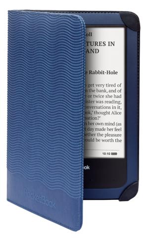 Калъф PocketBook Aqua 640  642 blue за eBook четец, 6 inch, Син