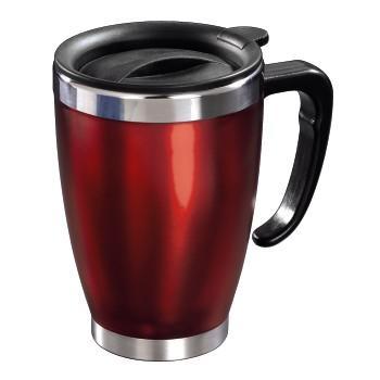 Xavax Термична чаша Office - червена, подходяща за рекламен надпис