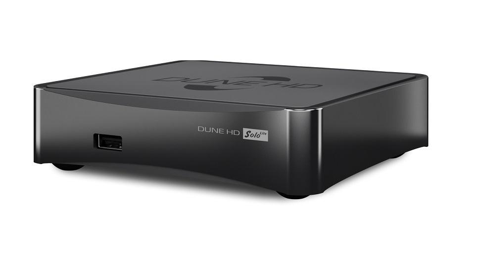 Мултимедиен плеър DUNE HD SOLO LITE 4K, Wi-Fi, Ethernet