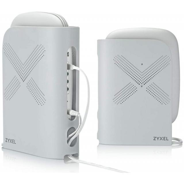Безжична Mesh система ZYXEL AC3000, Multy Plus, две в комплект, Tri-Band