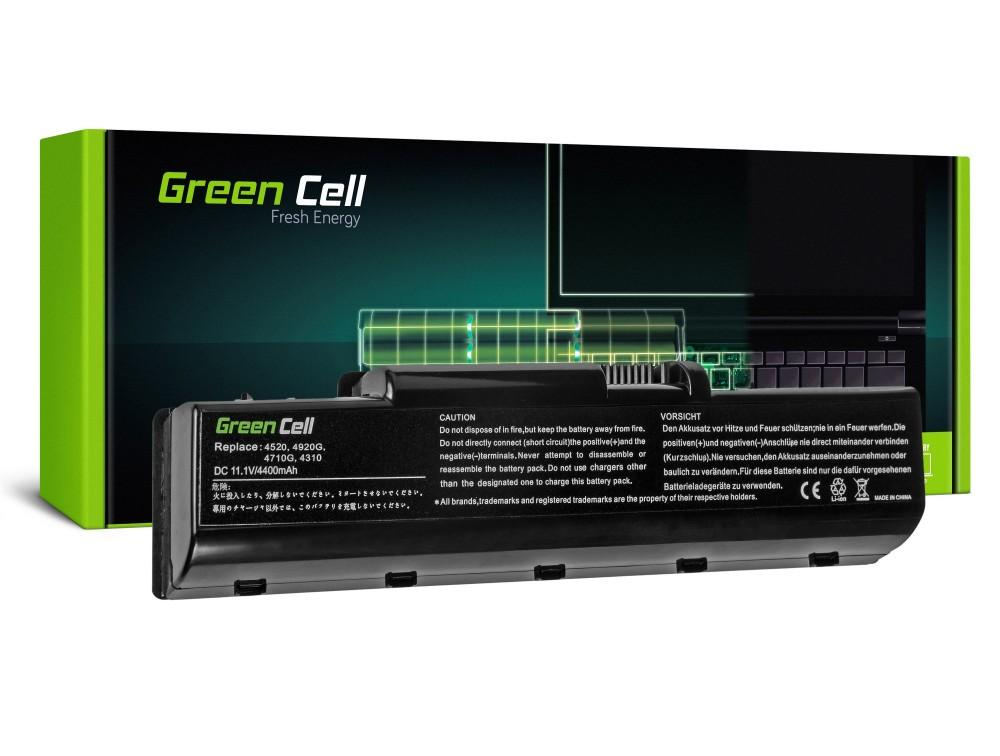 Батерия  за лаптоп Acer Aspire 4310/4520/4710/4920/4930G AS07A41/ASO7A42 GREEN CELL 11.1V/4400mAh
