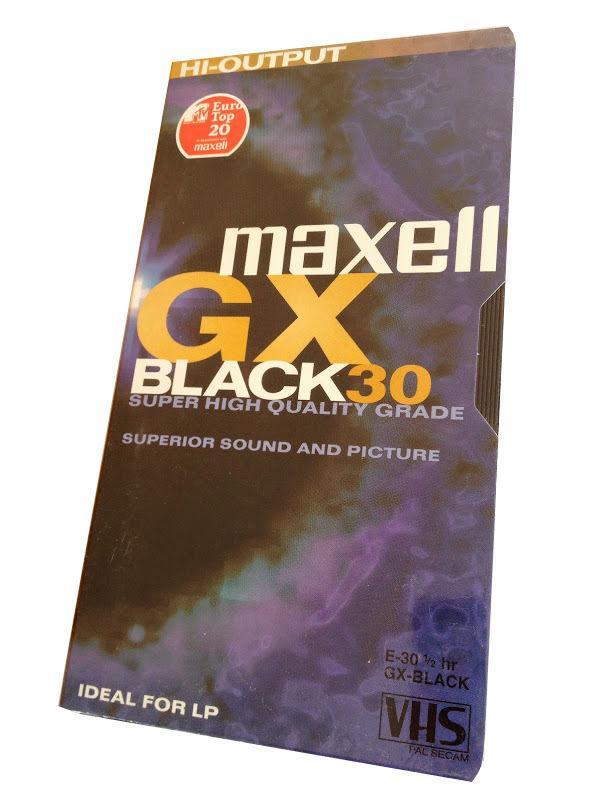 Видеокасета MAXELL E-30GX, 30 мин., VHS