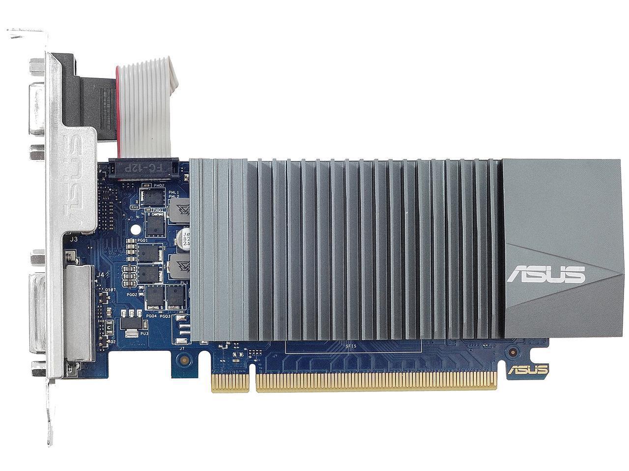 Видео карта ASUS GeForce GT 710, 1GB, GDDR5, 32 bit, D-Sub, DVI-D, HDMI