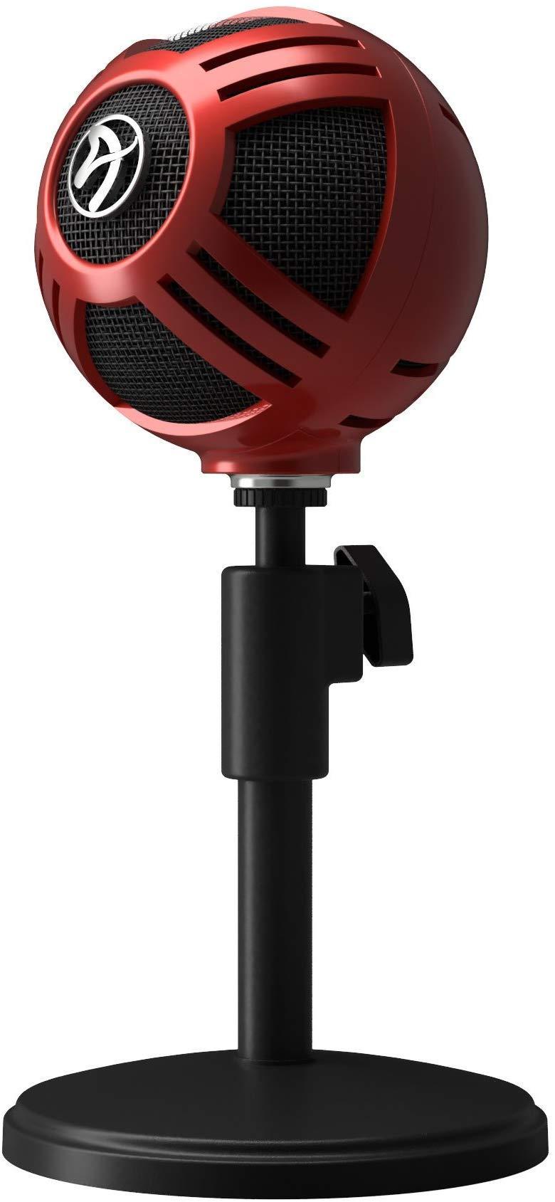 Настолен микрофон Arozzi Sfera Red