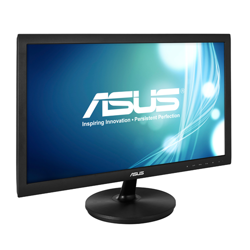 Монитор ASUS VS228NE, TN, 21.5 inch, Wide, Full HD, DVI-D, D-Sub, Черен