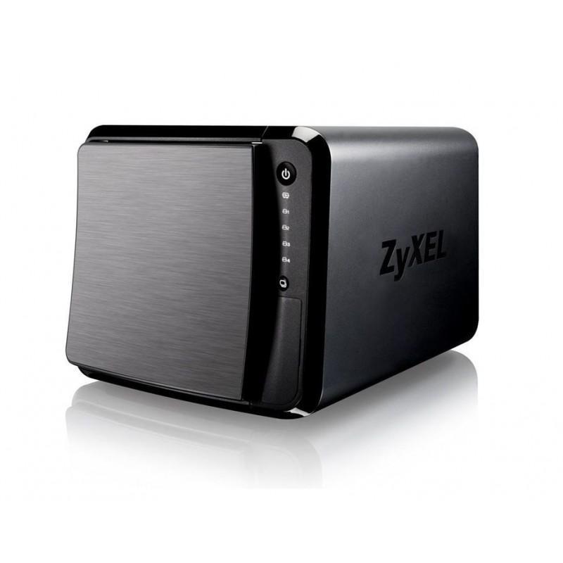 Мрежов сторидж ZyXEL NAS542, за 4 диска, до 24TB, 1.2GHz, 1GB, Гигабит, USB3.0