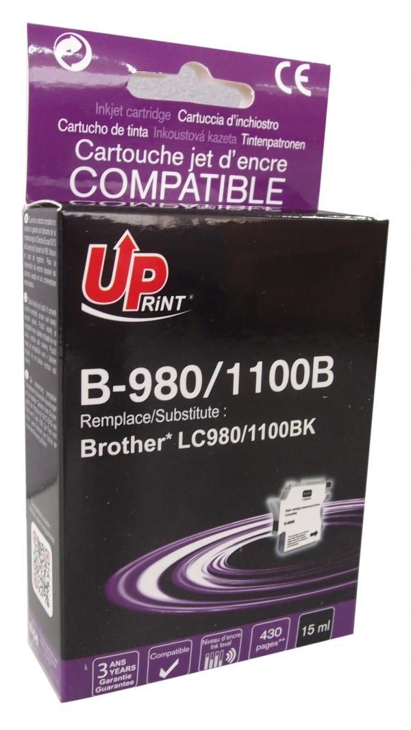 Мастилница UPRINT LC980/1100 BROTHER, Черен