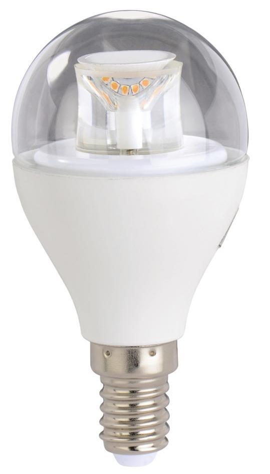 LED крушка XAVAX 112168, 230V, 5.9W, E14, P45, 2700K, bulb