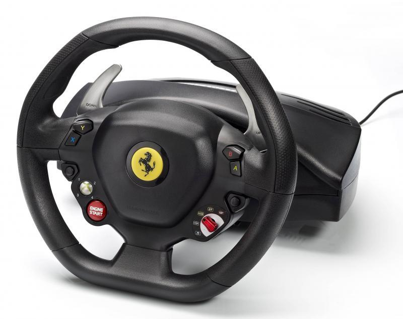 Волан THRUSTMASTER,  Ferrari 458 Italia, за XBox360 / PC