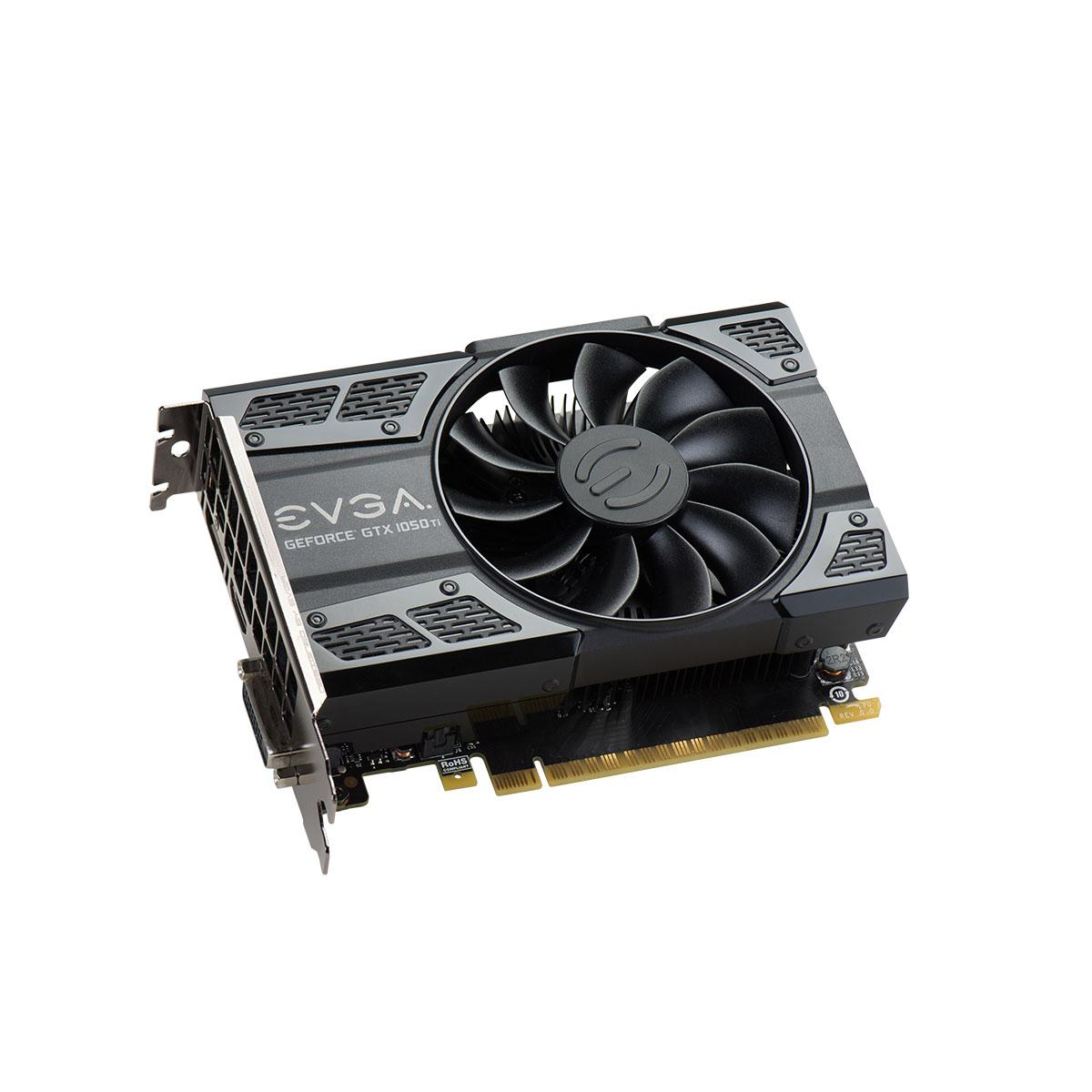 Видео карта  EVGA GeForce GTX 1050 Ti SC GAMING 04G-P4-6253-KR, 4GB, GDDR5, 128 bit, DVI-D, DisplayPort, HDMI