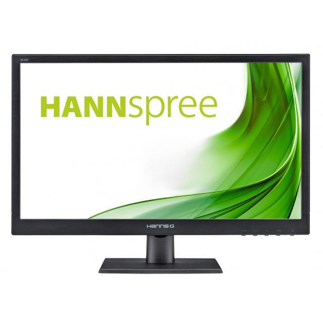 Монитор HANNSPREE HL205DPB , IPS, 19.5 inch, Wide, HD+, D-Sub, DVI-D, Черен