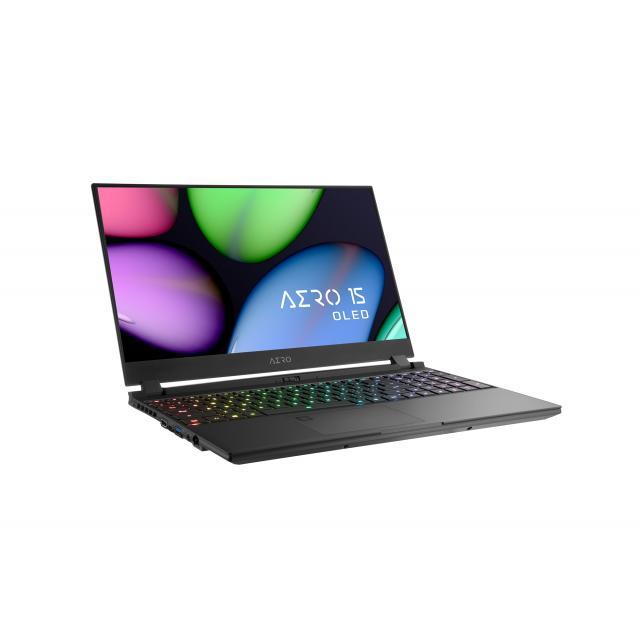 "Лаптоп GIGABYTE AERO 15.6"", UHD OLED,Intel® Core™ i7-9750H, 8GB, 256GB, GTX1660TI, Windows 10 Home"