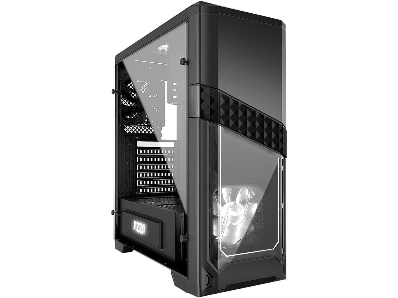 Кутия AZZA Titan 240X / No PSU  Black / MID TOWER