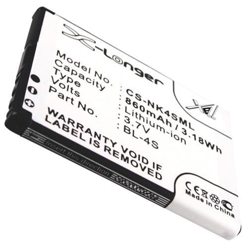 Батерия за телефон за NOKIA BL-4S 7610, 3600 3.7V 860mAh CAMERON SINO