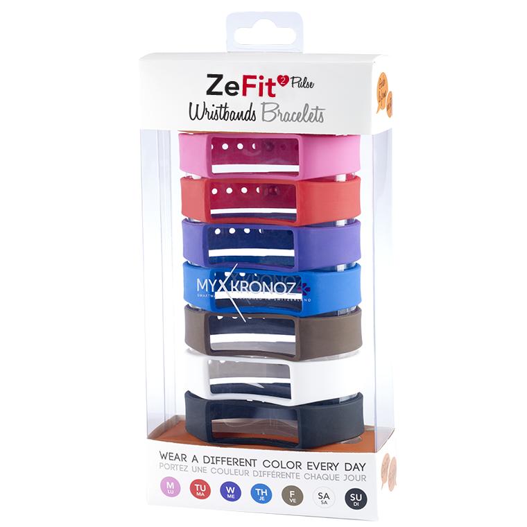 Каишка за смартчасовник MyKronoz Zefit2 Pulse, 7 цвята
