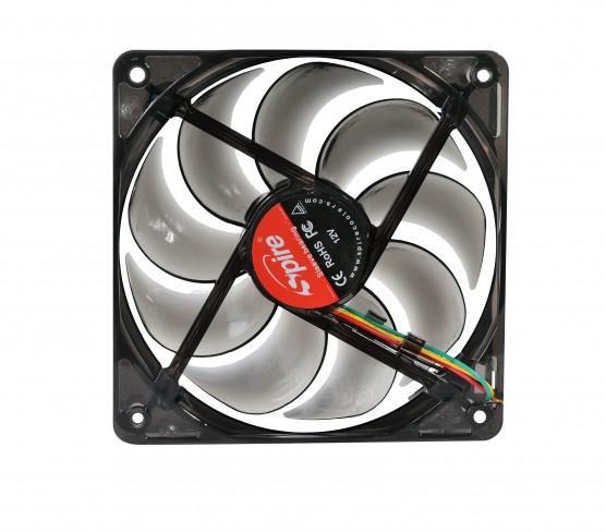 Вентилатор SPIRE  120x120x25 mm, 3 + 4 PIN Molex 2510 + 8981, Sleeve