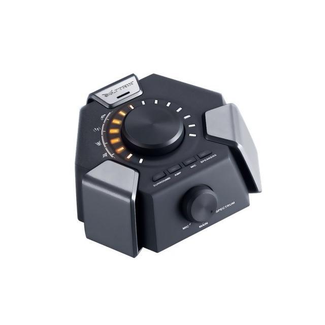 Геймърски слушалки ASUS, STRIX 7.1, Микрофон, Черни