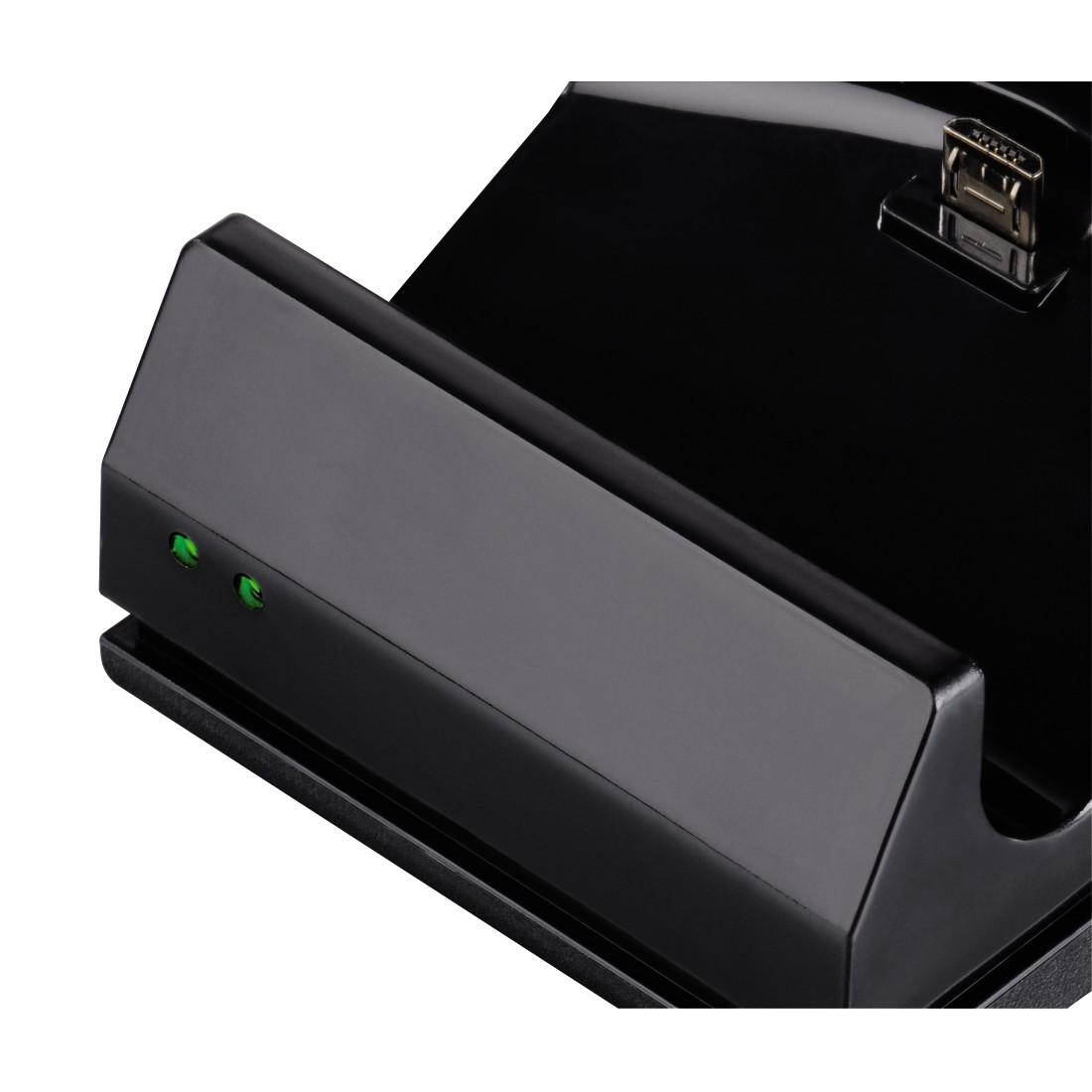 """Зарядна станция HAMA """"ESS"""" 115480 за PS4/SLIM/PRO, Черен"""