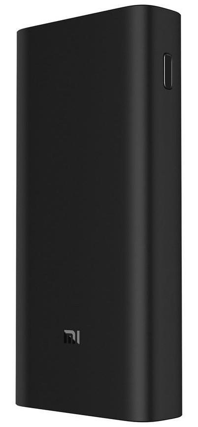 Външна батерия Xiaomi Mi 3 PRO, 20000 mAh, USB-C, Черна