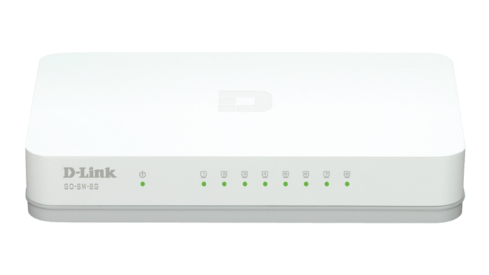 Суич D-LINK GO-SW-8G, 8 port, Gigabit