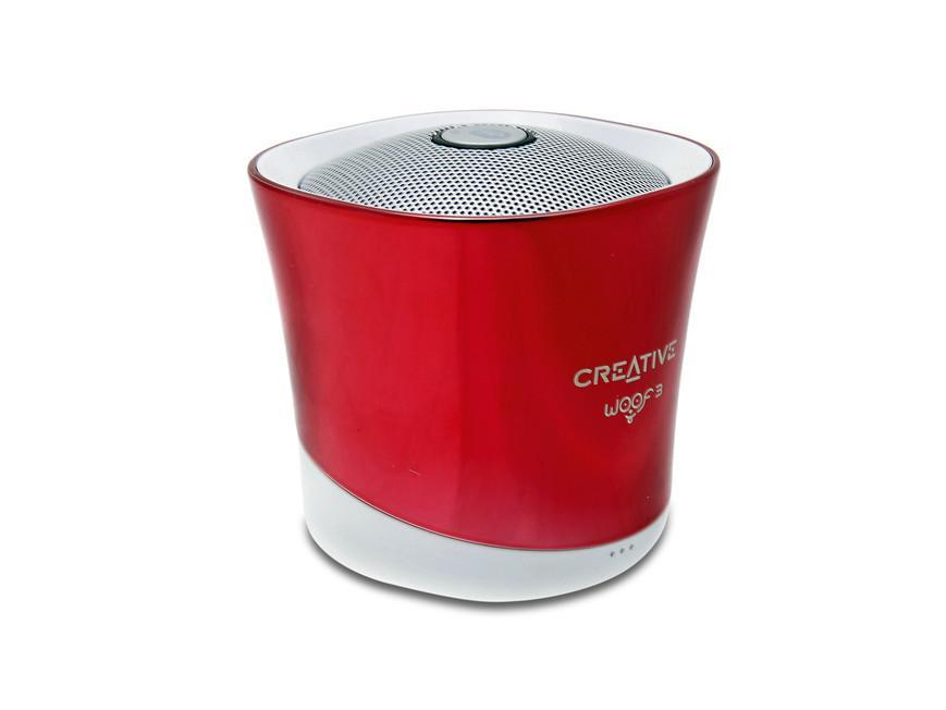Тонколонка за мобилни устройства Creative WOOF3, Червен