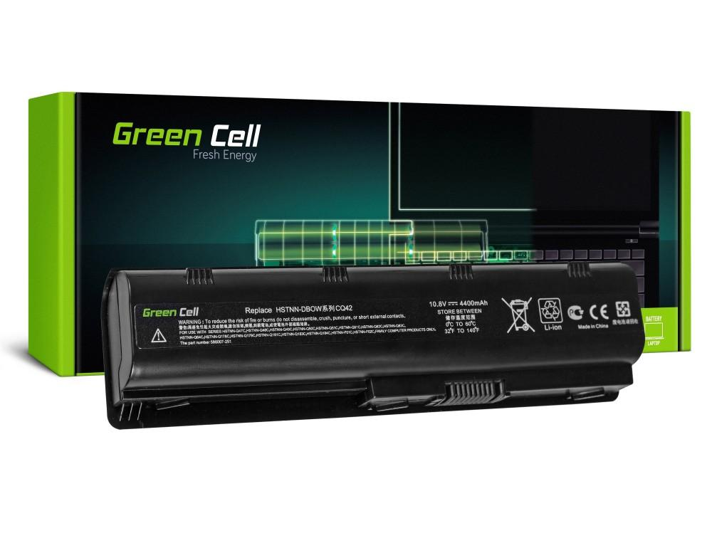 Батерия  за лаптоп HP G32/G42/G62/G72 Presario CQ31/CQ42 CB0W / DB0W 10.8V, 4400mAh, Черен, GREEN CELL