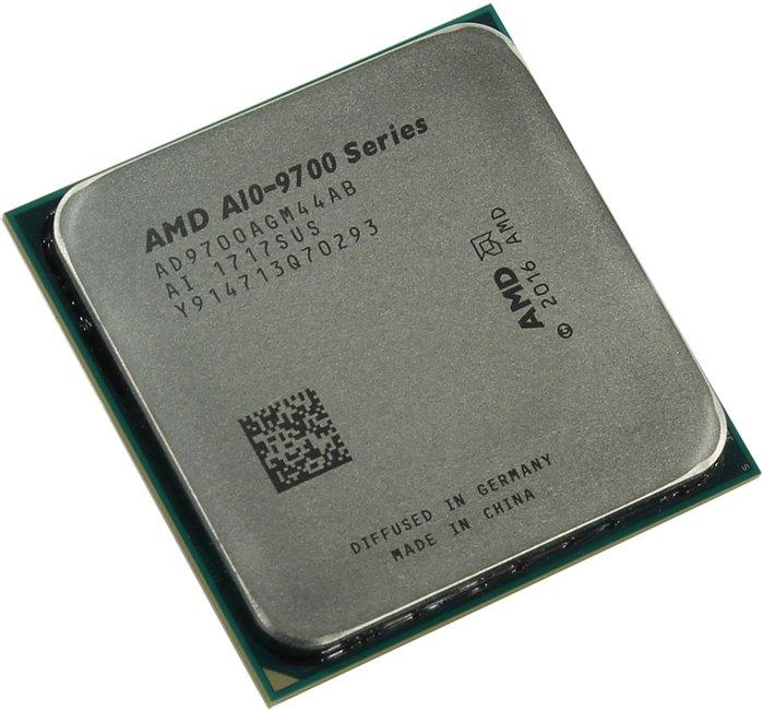 Процесор AMD A10-series 9700, 4-Core 3.5 GHz, 2MB/65W/AM4/BOX