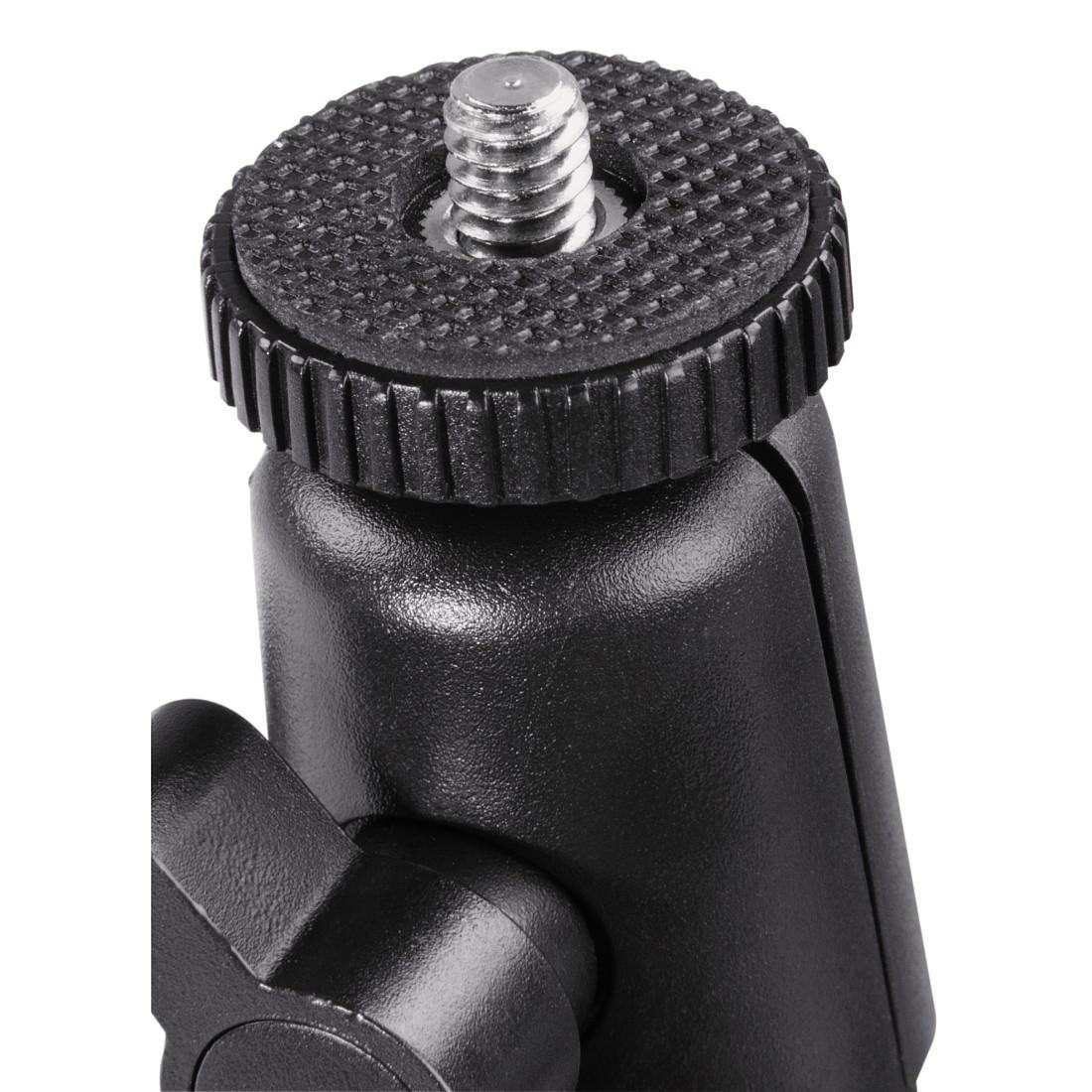 Универсална автомобилна стойка за камера HAMA 04356, Вакумно залепяне, Вртяща глава на 360°, Черен