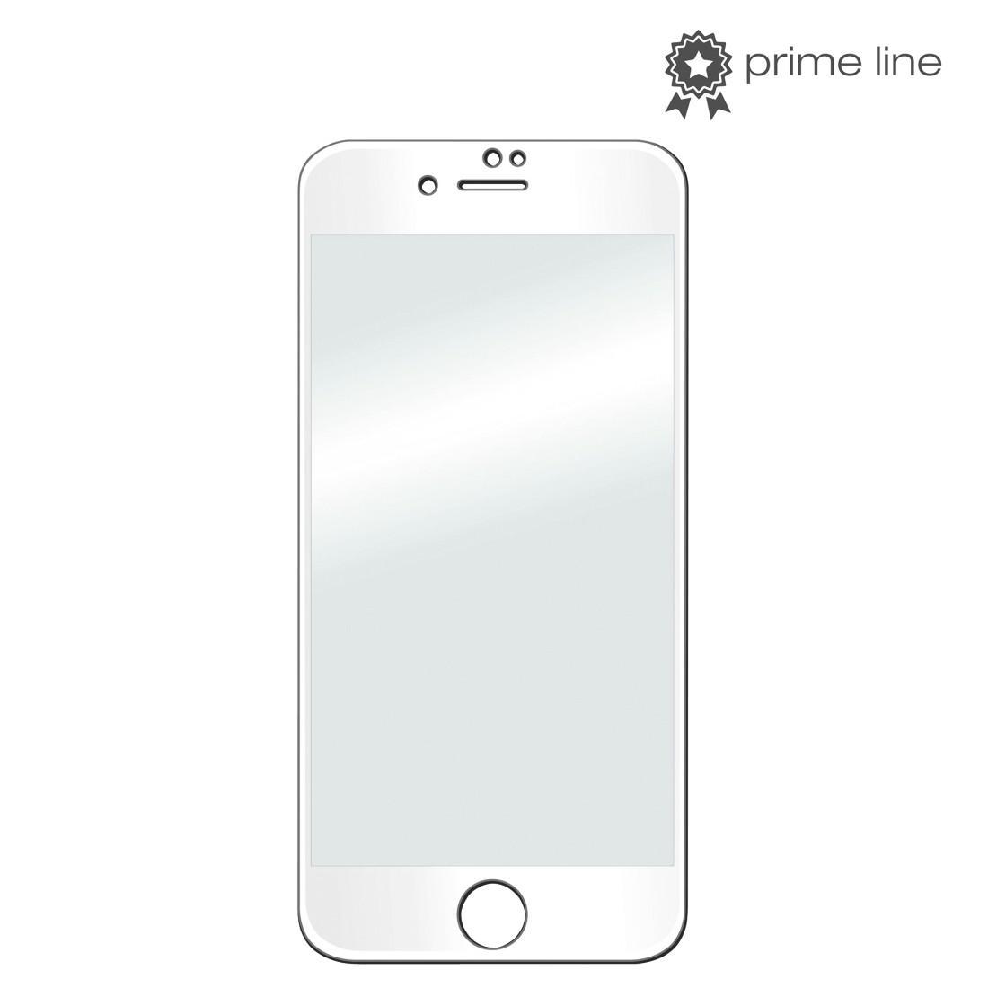 Стъклен протектор HAMA 3D Full, за Apple iPhone 7 Plus/8 Plus, Бял
