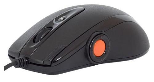Геймърска мишка A4tech, OSCAR XL-755BK, Лазерна, Кабел, USB