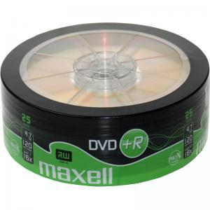 DVD+R MAXELL, 4,7 GB, 16x, 25 бр.