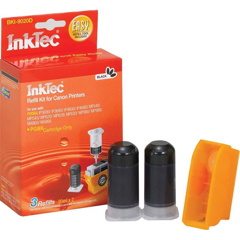 Рефил INKTEC BKI- 8050B, CANON BCI5BK/BCI6BK, Dye, Черен