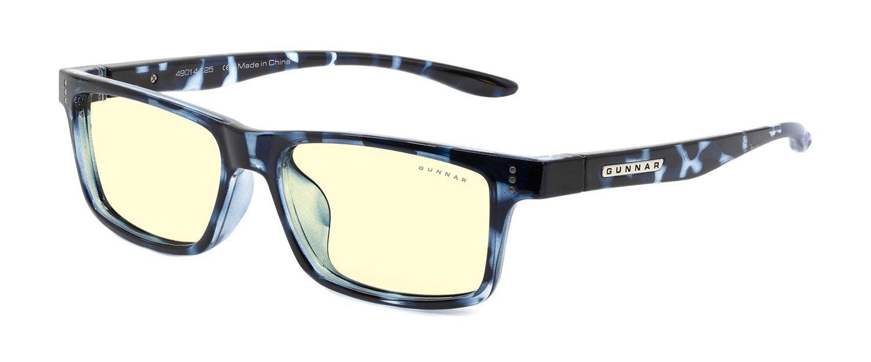 Детски компютърни очила GUNNAR Cruz Kids Large, Amber Natural, Син