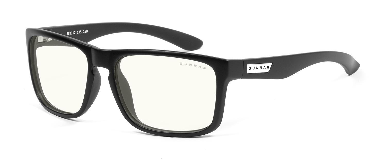 Геймърски очила GUNNAR INTERCEPT Onyx, Clear Natural, Черен