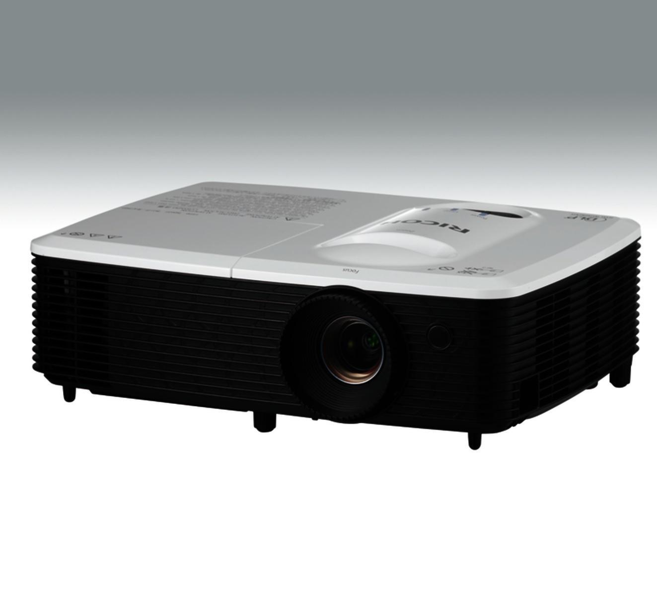 Видеопроектор RICOH WX2440,DLP, 1280 x 800(WXGA), 3100 ANSI, 10 000:1, HDMI, MHL