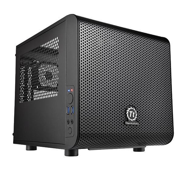 Кутия THERMALTAKE Core V1, Cube Case, Черна