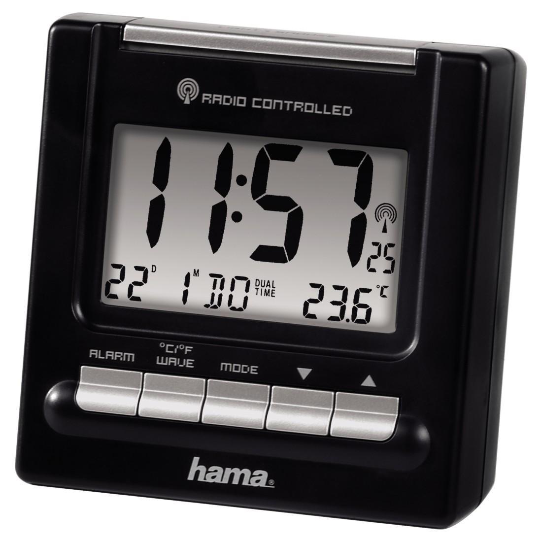 Часовник RC200 HAMA 92630, Черен