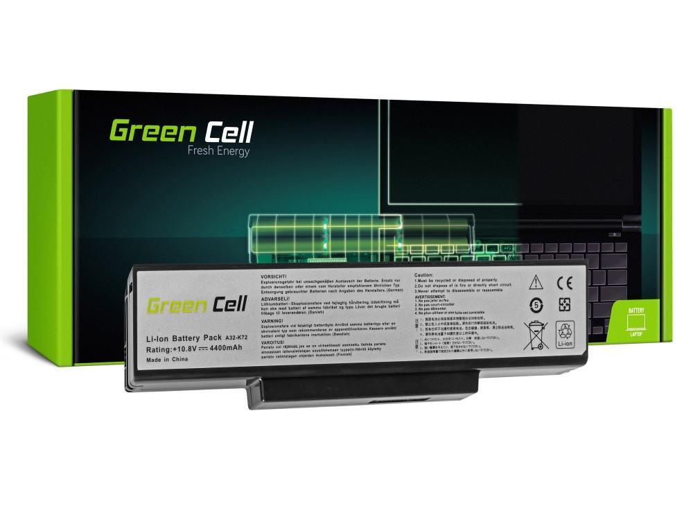 Батерия  за лаптоп Asus N71 K72 K72J K72F K73SV N71 N73 N73S N73SV X73S 10.8V 4400mAh GREEN CELL