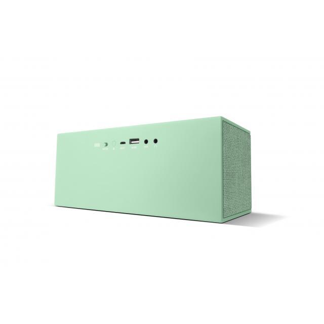 Тонколонка за мобилни устройства Fresh & Rebel Rockbox Brick XL Fabriq Edition, Peppermint , Зелен