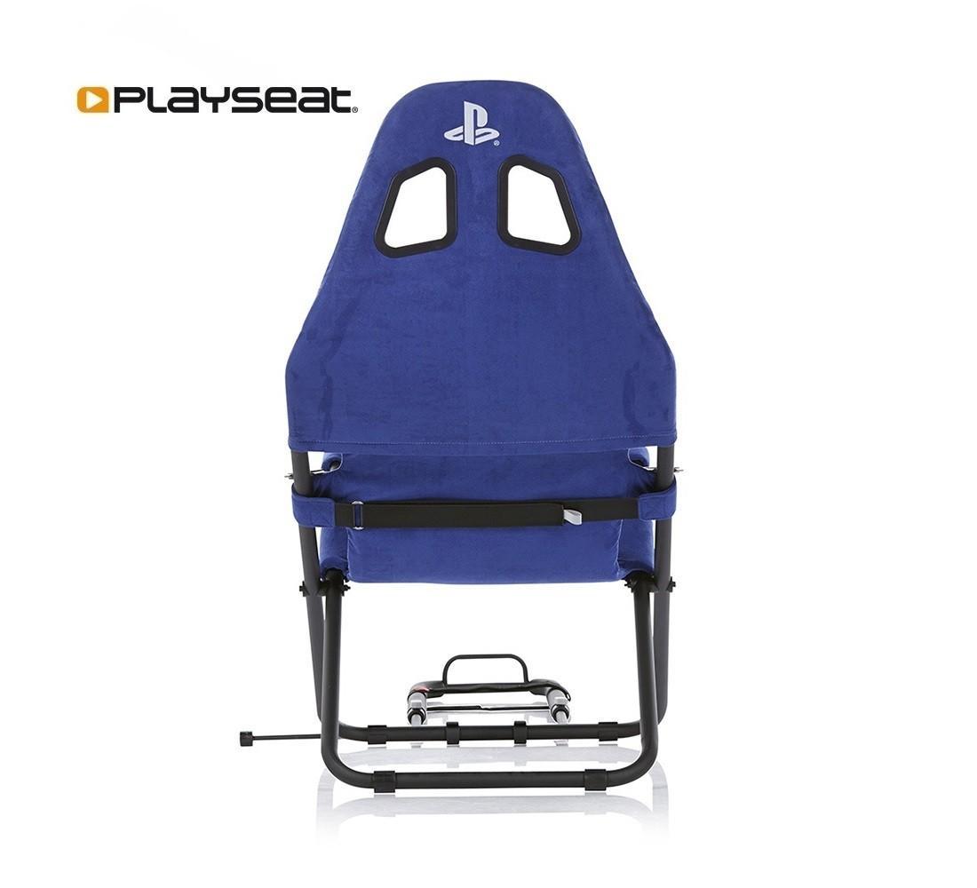 Геймърски стол Playseat Challenge Playstation Edition, Син