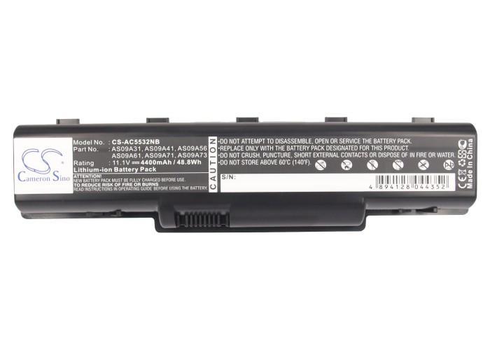 Батерия  за лаптоп ACER AS09A31, 11.1V, 4400mAh, Черен, Cameron sino
