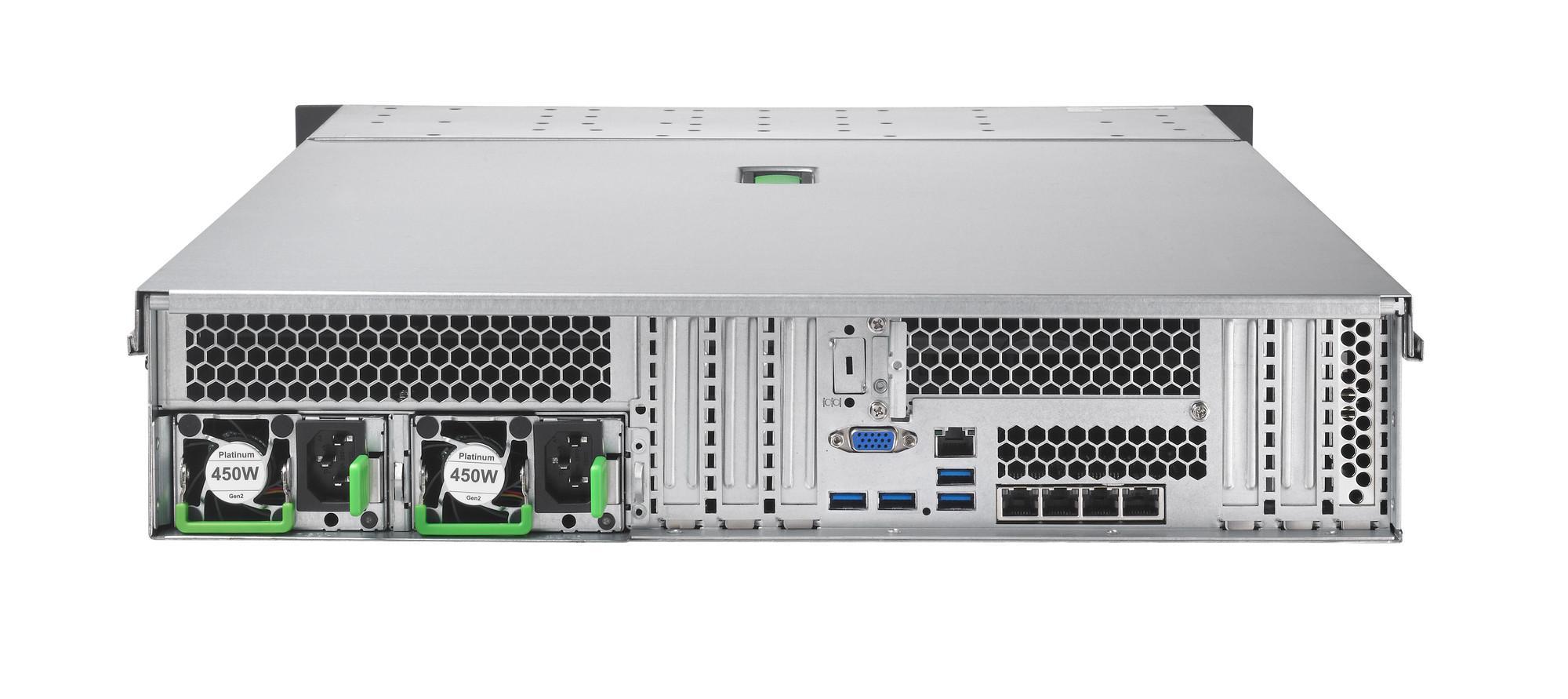 "Сървър Fujitsu Primergy RX2540M2 LFF Intel Xeon E5-2620v4/16GB/8X3.5""EXP/RAID12G 2GB/LAN4X1GB/PSU 450W"