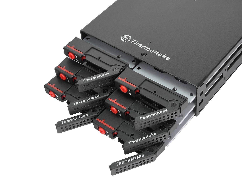 """Чекмедже за твърд диск Thermaltake Max 2506, 6 x 2.5"""" Multi Bay в 5.25"""""""
