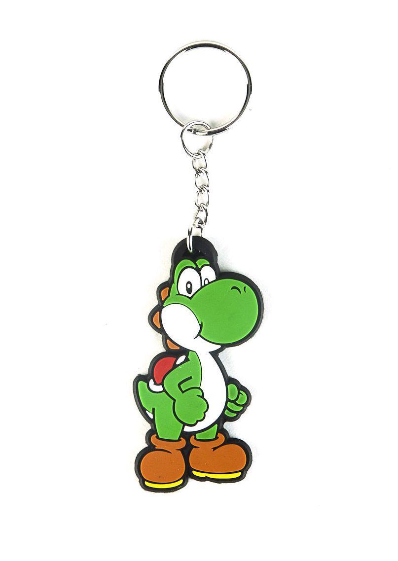 Ключодържател Bioworld Nintendo - Yoshi Rubber Keychain