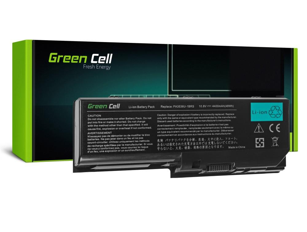 Батерия  за лаптоп Toshiba Satellite P200 P300 X200 L350 Satego X200 P200 PA3536U 10.8V 4400 mAh GREEN CELL