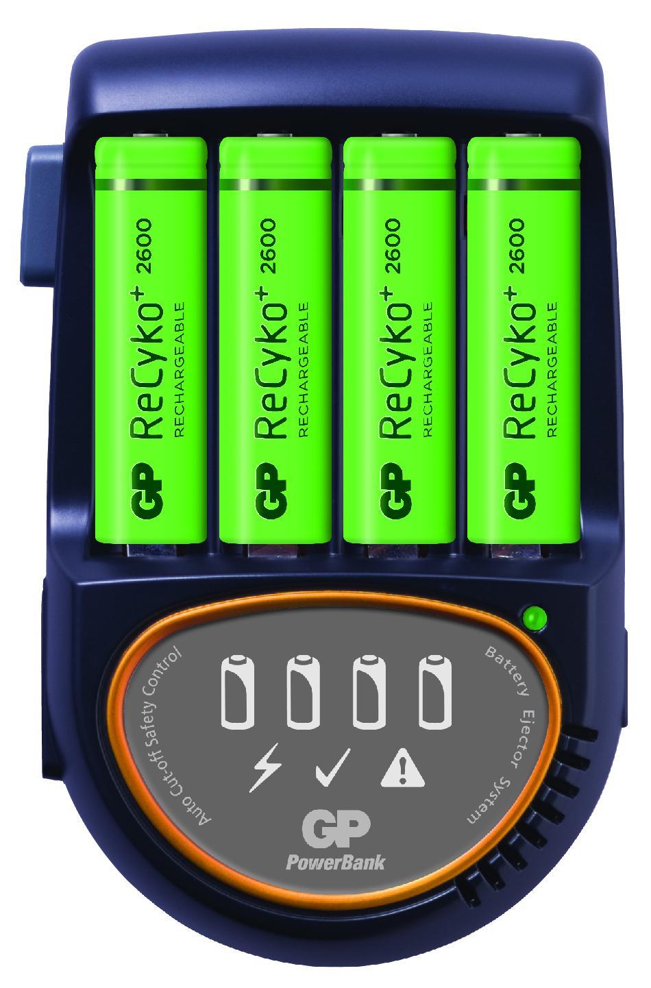 Зарядно устройство GP ,PB570GS270+4 AA NiMH 2700mAh FAST GP